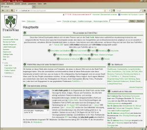 Ein kleines Wiki für alte und neue Fürther